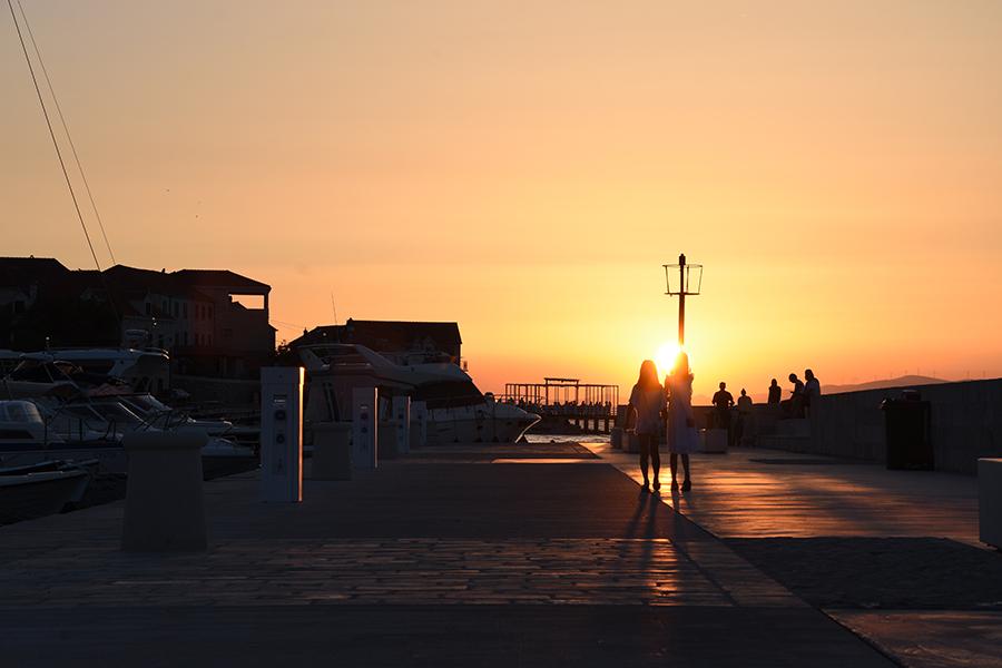 Sonnenuntergang, Kroatien