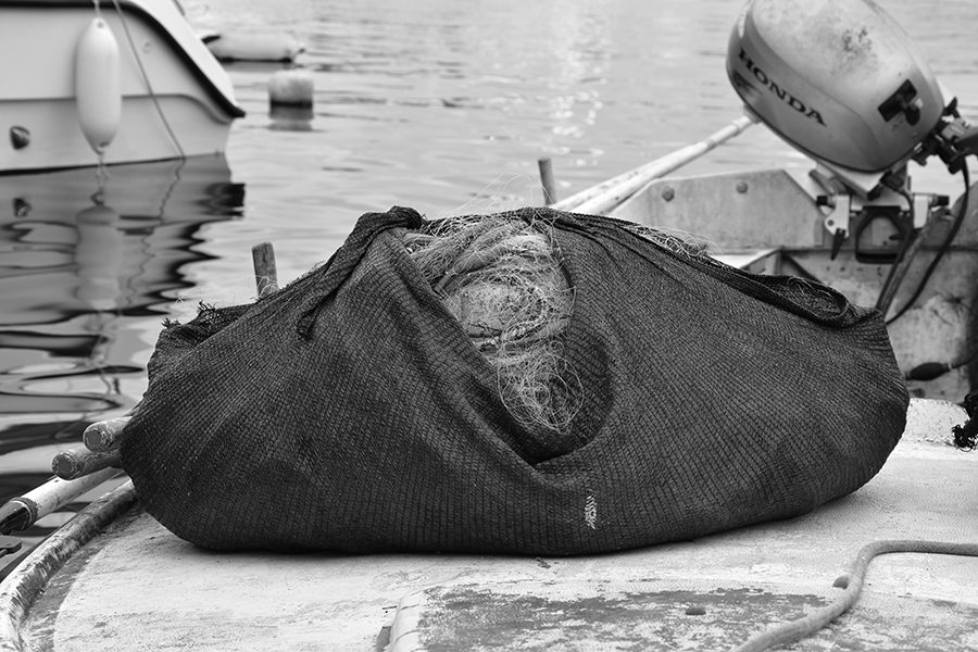 Fischernetz, Kroatien